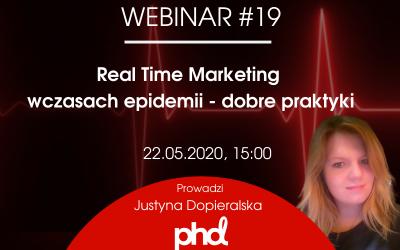 Real Time Marketing w czasach epidemii – dobre praktyki