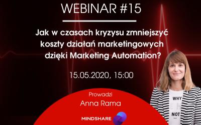 Jak w czasach kryzysu zmniejszyć koszty działań marketingowych dzięki Marketing Automation?
