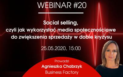Social selling, czyli jak wykorzystać media społecznościowe do zwiększenia sprzedaży w dobie kryzysu